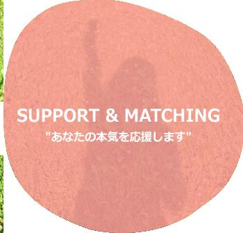 緑の仕事 サポート&マッチング|あなたの本気を応援します